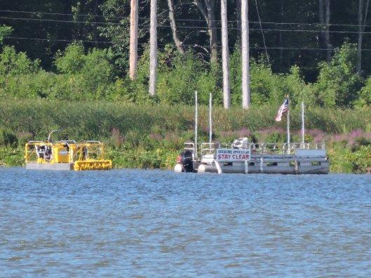 dredging Lake Neatahwanta Granby